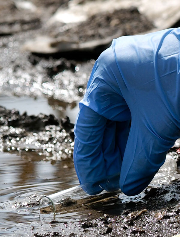 analisi campioni rifiuti